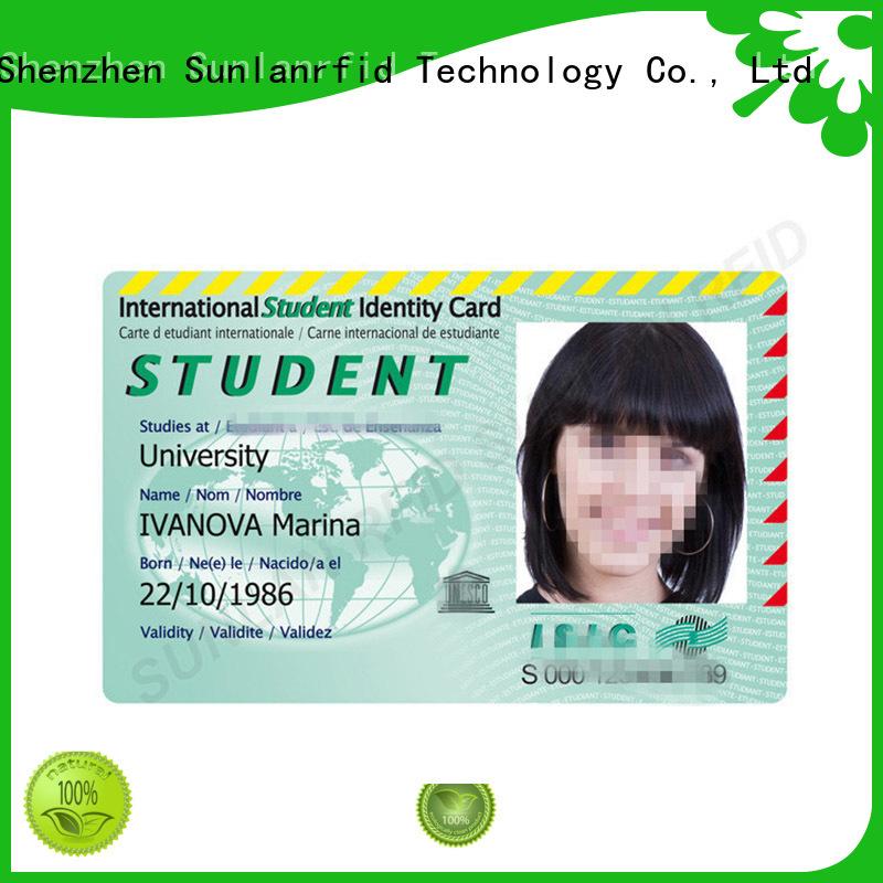 id school id card chip Sunlanrfid company