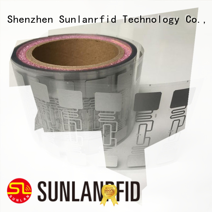 Sunlanrfid Latest uhf inlay manufacturer for QR code