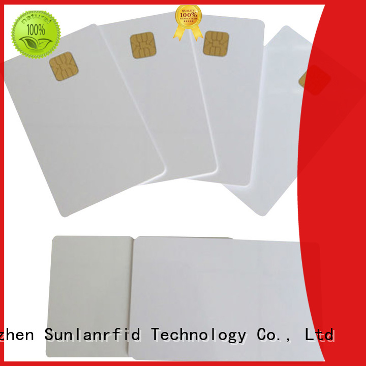 Sunlanrfid card contact card production for daily life