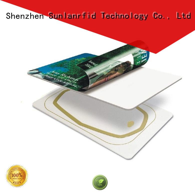 Sunlanrfid id hf inlay production for daily life