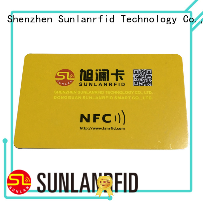 Sunlanrfid price what is nfc tag Supply for parking