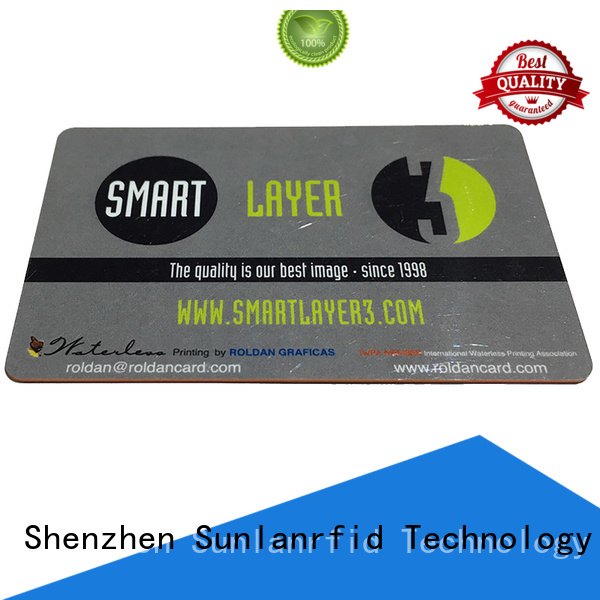 Sunlanrfid printing prox card wholesale for access control