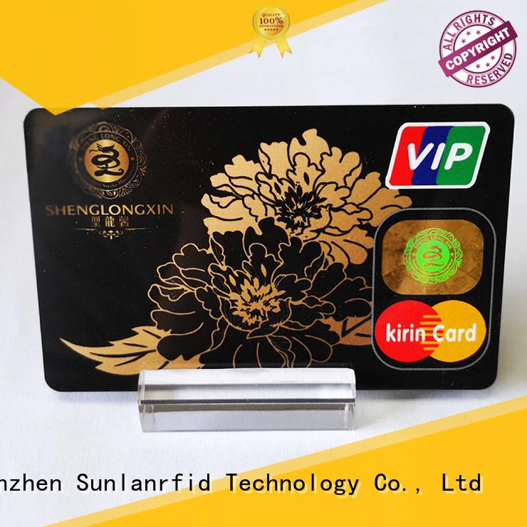Hot ultralight prepaid scratch card smart Sunlanrfid Brand