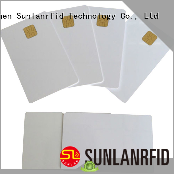 smart contact chip card supplier for transportation Sunlanrfid