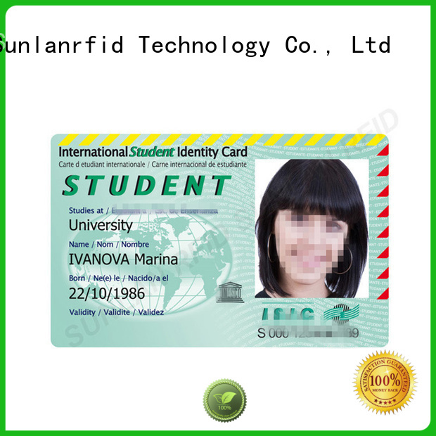 Sunlanrfid id id card format production for access control