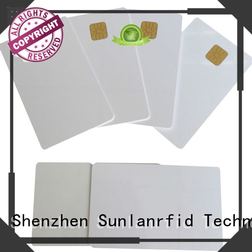 Sunlanrfid ic credit card ic industry