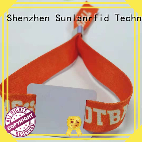 Sunlanrfid rfid wrist tag series for transportation
