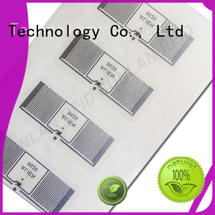 uhf inlay stickers company product for warehouse