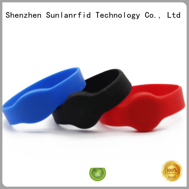 Sunlanrfid quality rfid band supplier for health care