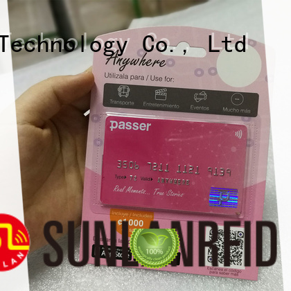 Transit Transportation Smart Card with NTAG210