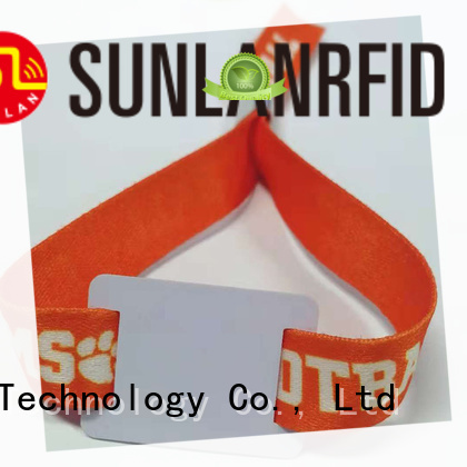 Sunlanrfid Best rfid wristbands Suppliers for fitness center