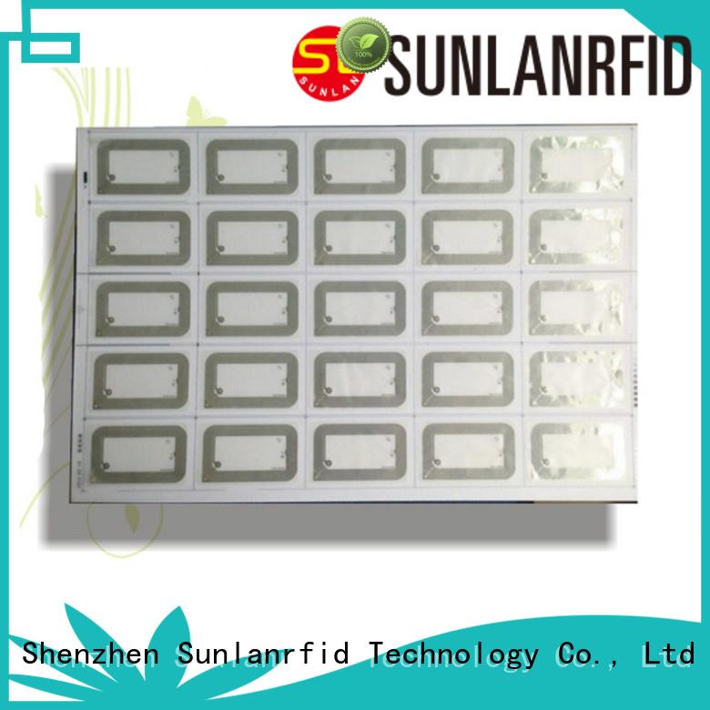 inlay rfid uhf UHF Inlay Prelam Sunlanrfid Brand company