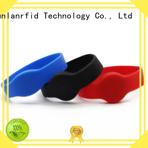 durable wristband rfid mifare supplier for smart advertisement
