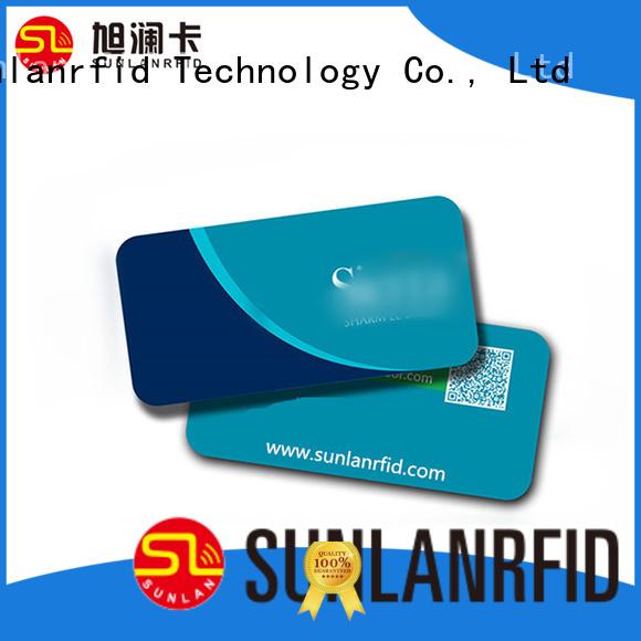 Sunlanrfid custom key card supplier for opening door