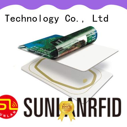Sunlanrfid antenna hf inlay series for normal Smart card