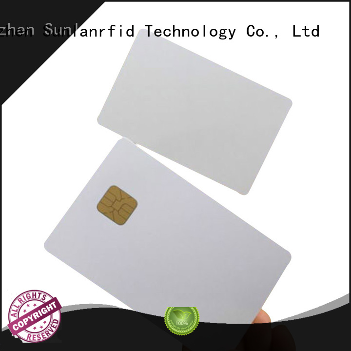 Sunlanrfid online ic card price for shopping Center