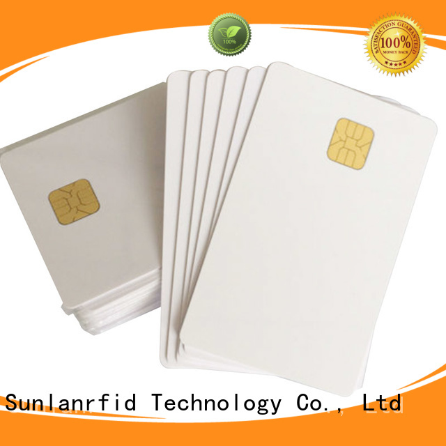 Sunlanrfid ic ic card manufacturer for time and attendance