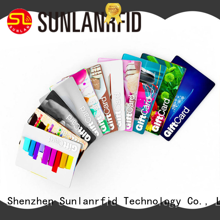 quality vip loyalty card manufacturer for shopping Center Sunlanrfid