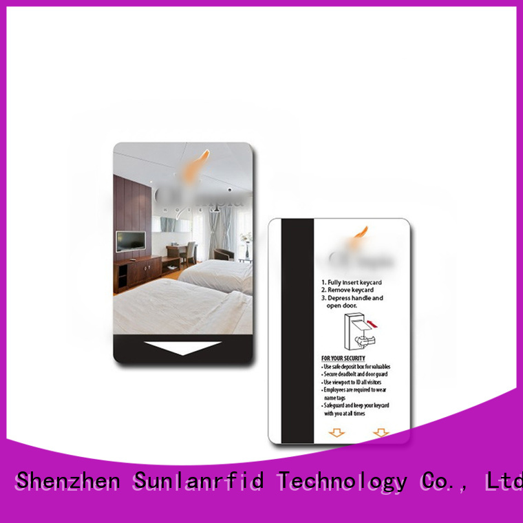 Sunlanrfid Best hotel card key credit card information Suppliers for hotel