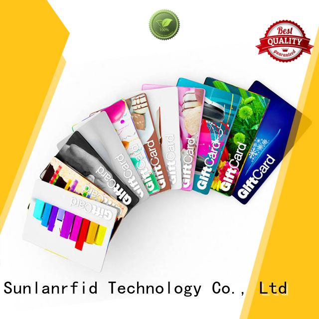 Sunlanrfid Brand card ultralight® ultralight custom rfid loyalty card