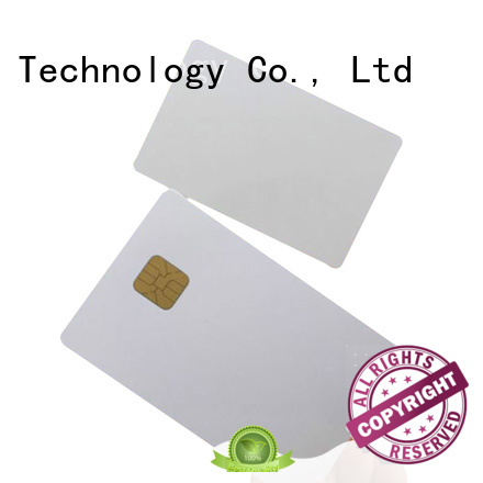 Sunlanrfid card contact chip card manufacturer for shopping Center