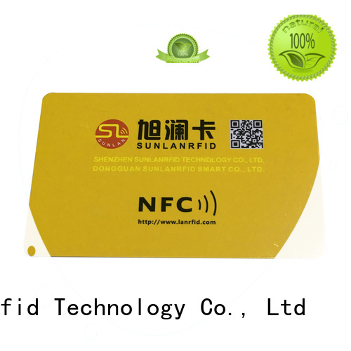 Sunlanrfid quality nfc sd card supplier for shopping Center