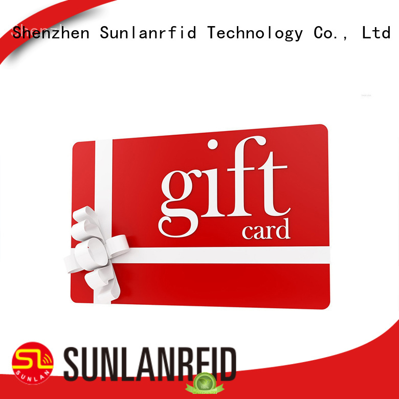 Sunlanrfid loyalty loyalty card manufacturer for time and attendance
