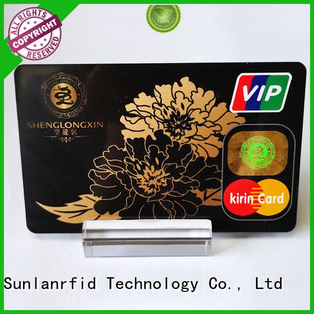 Sunlanrfid Brand card ultralight prepaid scratch card smart