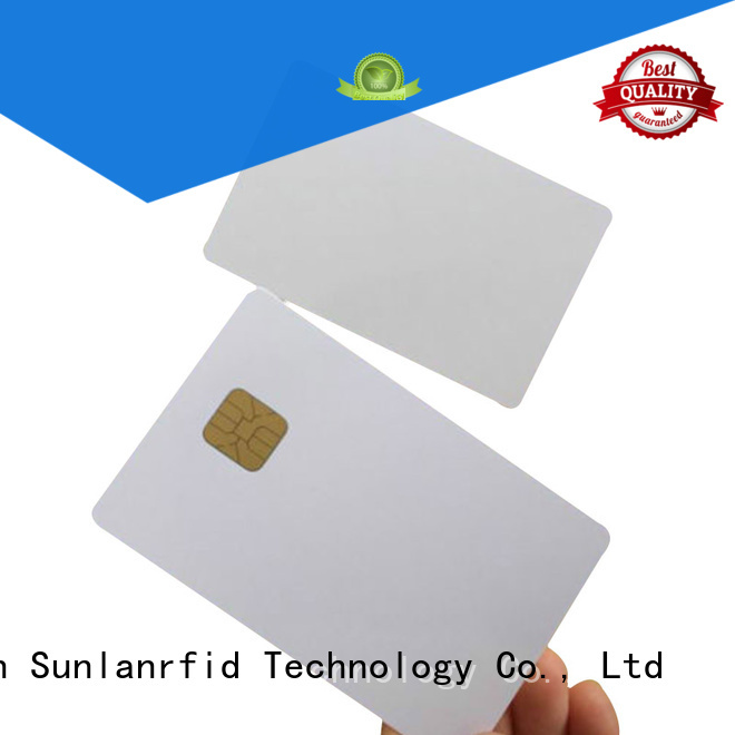 Sunlanrfid chip mifare card production for shopping Center