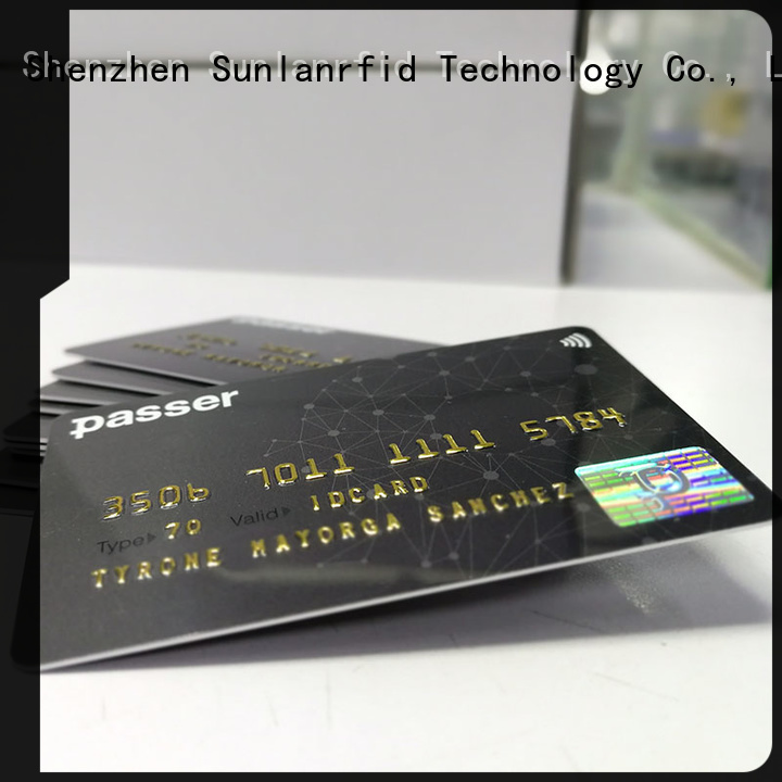 Sunlanrfid New metro easy card factory for daily life
