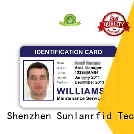 chip card Sunlanrfid Brand rfid student id card factory