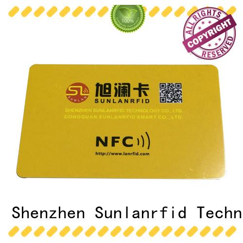 Sunlanrfid online nfc 215 manufacturer for transportation