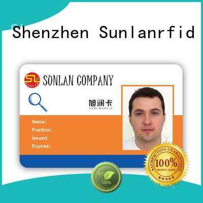 Sunlanrfid quality identity card design ntag213 for daily life