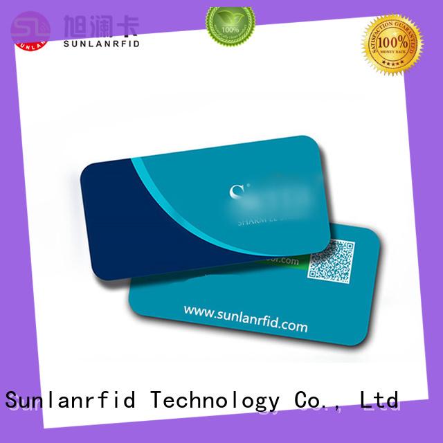 Sunlanrfid online hotel room card key for opening door