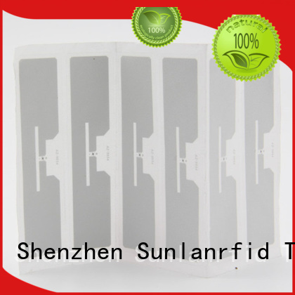 Sunlanrfid quality label rfid wholesale for time and attendance