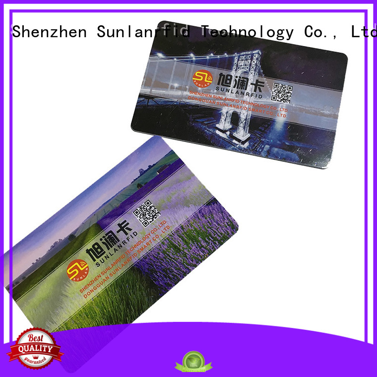 durable magnetic card card manufacturer for time and attendance