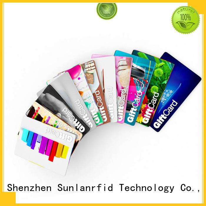 Sunlanrfid nano rewards cards manufacturer for access control