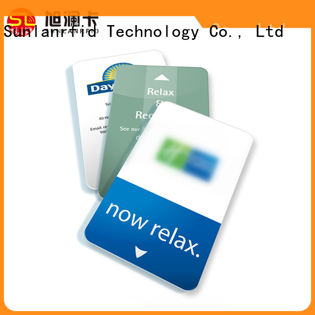 Sunlanrfid New key card door lock for hotels production for daily life