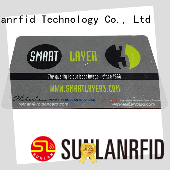 Sunlanrfid card access control card supplier for daily life