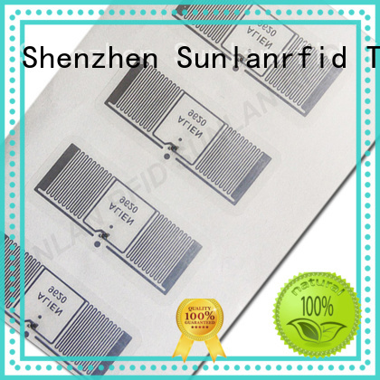 Sunlanrfid supplier inlay stickers company for daily life