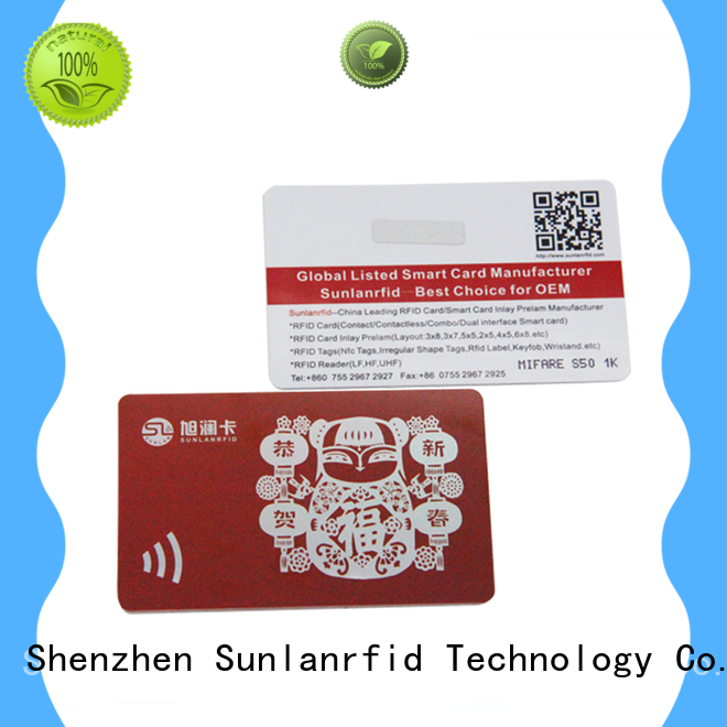 loyalty best loyalty cards manufacturer for shopping Center Sunlanrfid