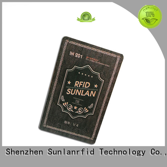 Sunlanrfid quality park card series for time and attendance