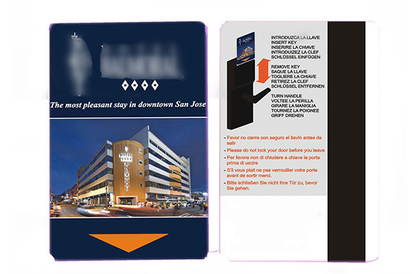 Sunlanrfid metropolitan police hotel key cards series for opening door