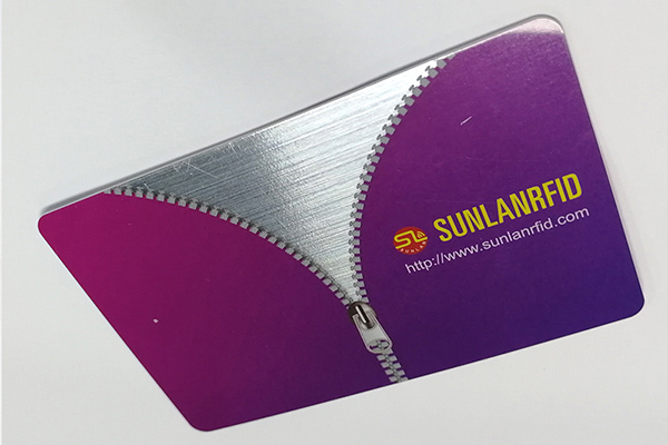 Sunlanrfid higgs contactless smart card production for time and attendance