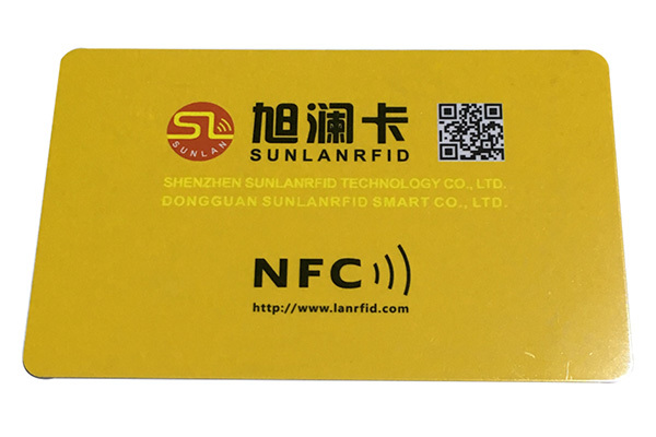 Sunlanrfid smart nfc advertising Supply for time and attendance-4