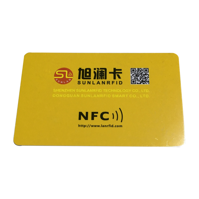 Sunlanrfid smart nfc advertising Supply for time and attendance