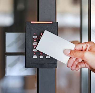 what are the processes of access control card