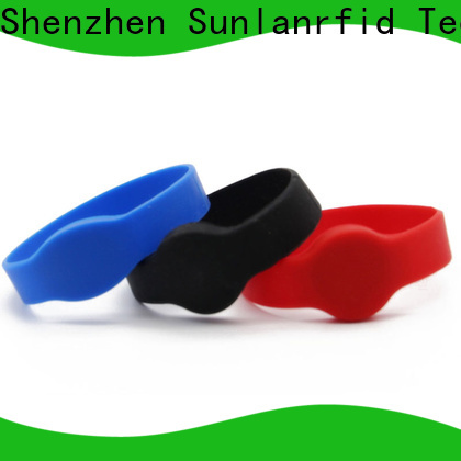 Sunlanrfid online rfid wristband printer manufacturers for parking