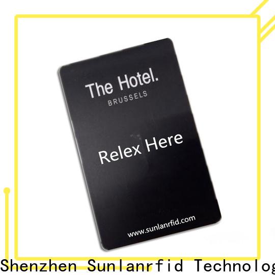 Sunlanrfid chip how do hotel door locks work series for hotel