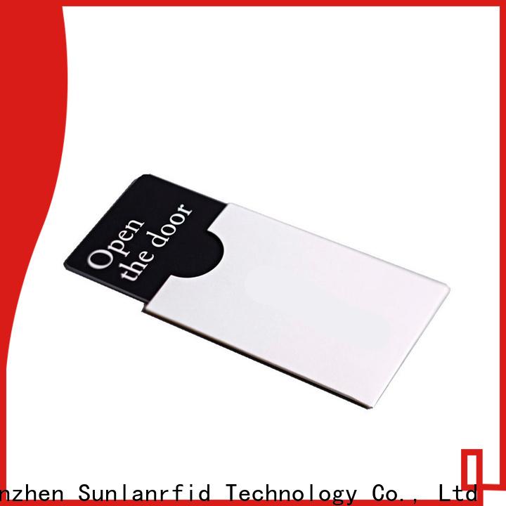 Sunlanrfid custom hotel card key switch price series for hotel